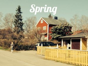 Spring arrived in Östersund