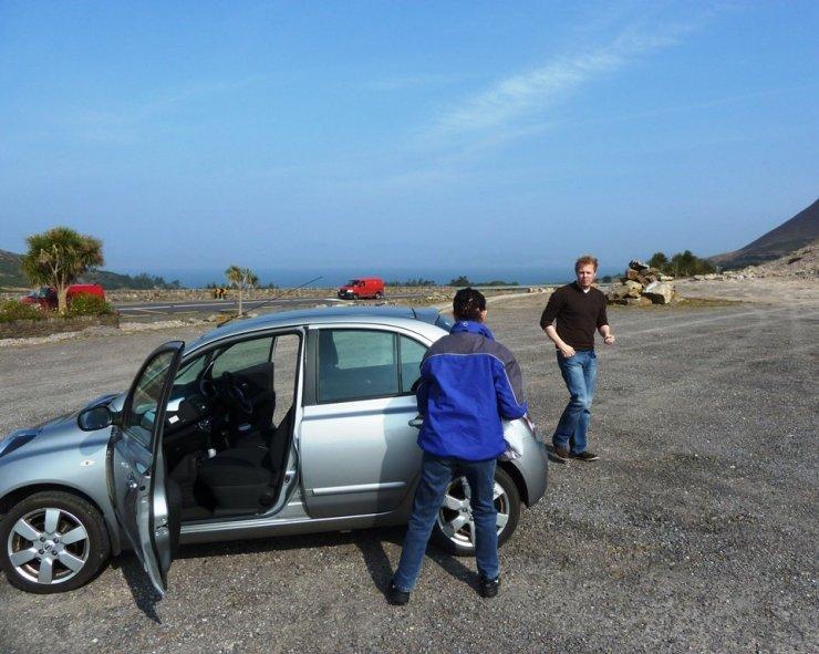 Road Trip Ireland Car