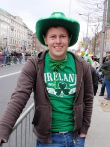 Matthias at St. Patrick's Day