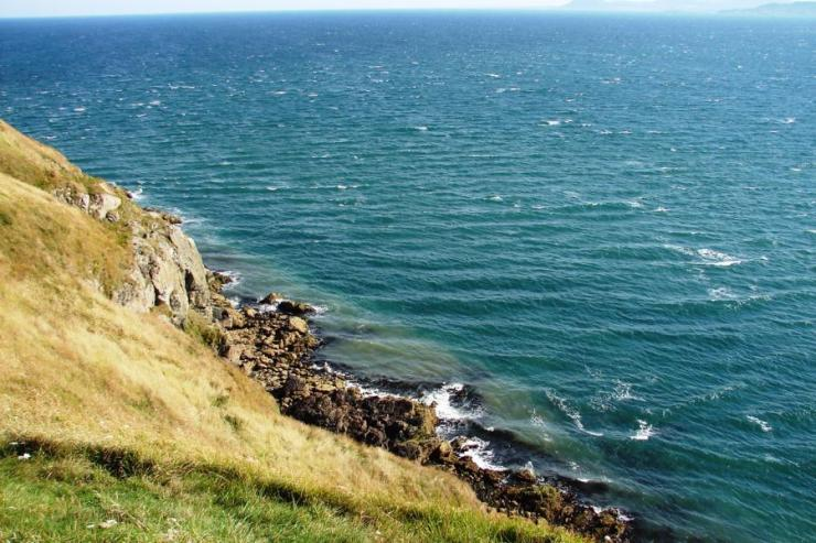 Bray sea side
