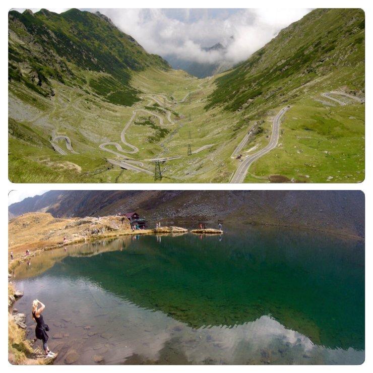 Karpaten: Transfogarascher Bergstraße mit Bergsee Balea