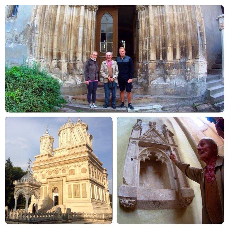 Alte Kirchen in Transilvanien - Fortified Chruches mit Herrn Schaar