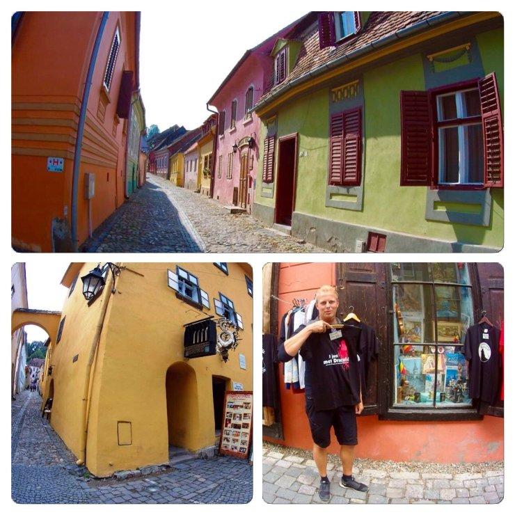 Sighisoara: Dracula was born here. Transylvania Romania