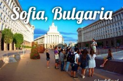 Travel to Sofia, Bulgaria - Reise nach Sofia, Bulgarien