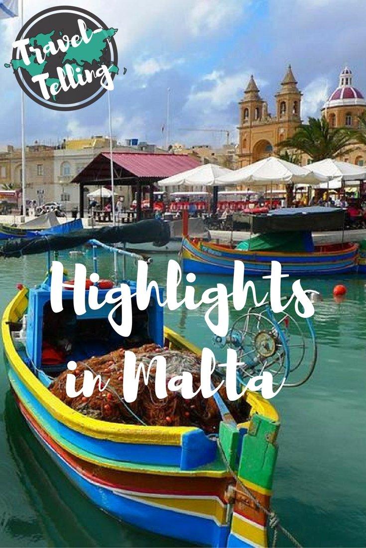 Highlights in Malta