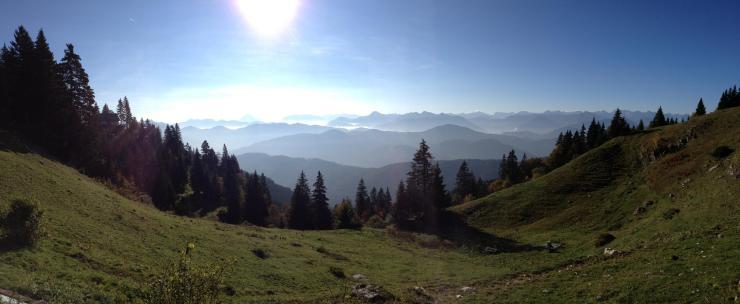München Berge Natur