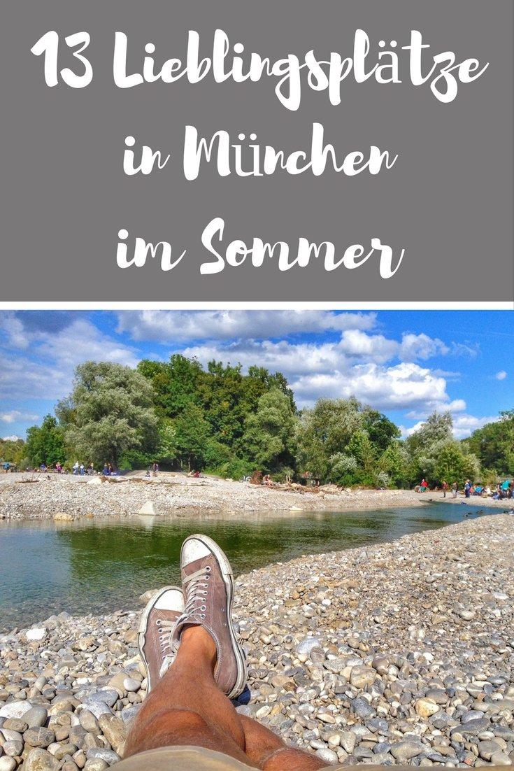 Die schönsten Plätze in München im Sommer
