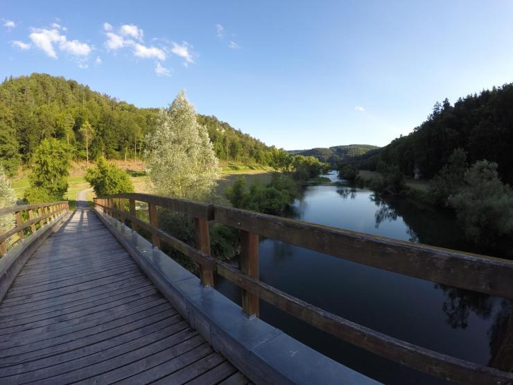 Radreise deutsche donau donautal naturpark obere donau