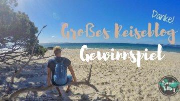 Großes Gewinnspiel auf dem Reiseblog TravelTelling