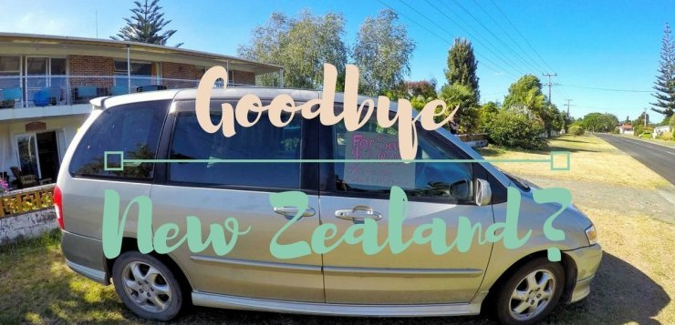Goodbye Neuseeland - Auto kaputt. Ist unser Road Trip nun zu Ende?