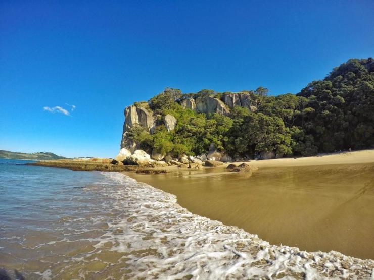 Lonely Bay in Coromandel