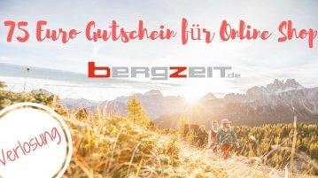 Gewinne einen € 75Gutschein vom Outdoor Shop BergZeit