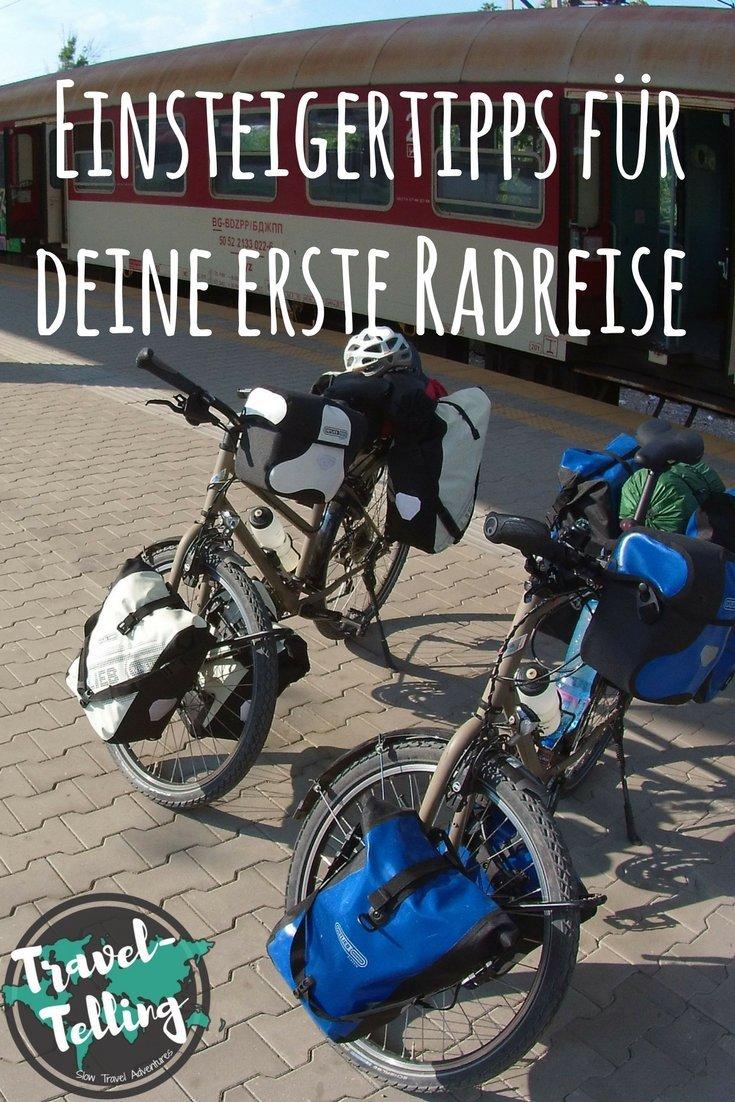 Einsteigertipps für deine erste Radreise