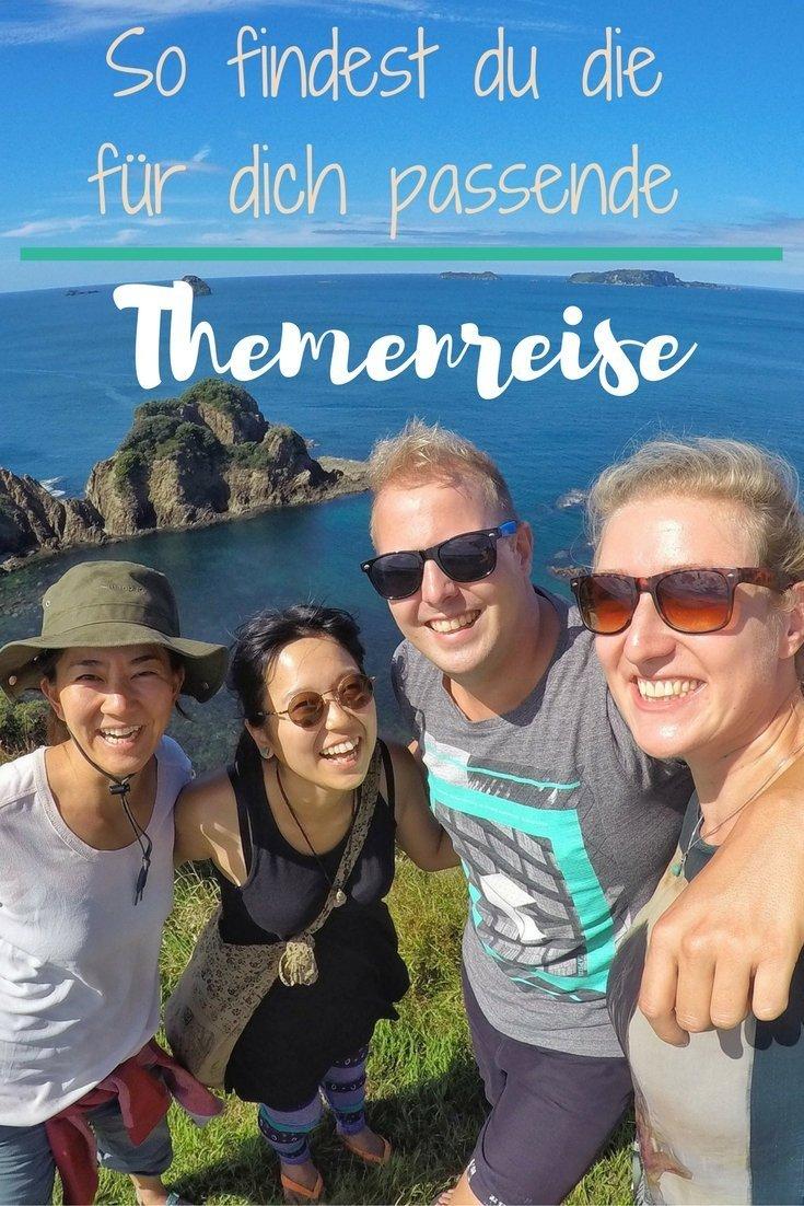 Tipps zu Themenreisen - Urlaub mal anders!
