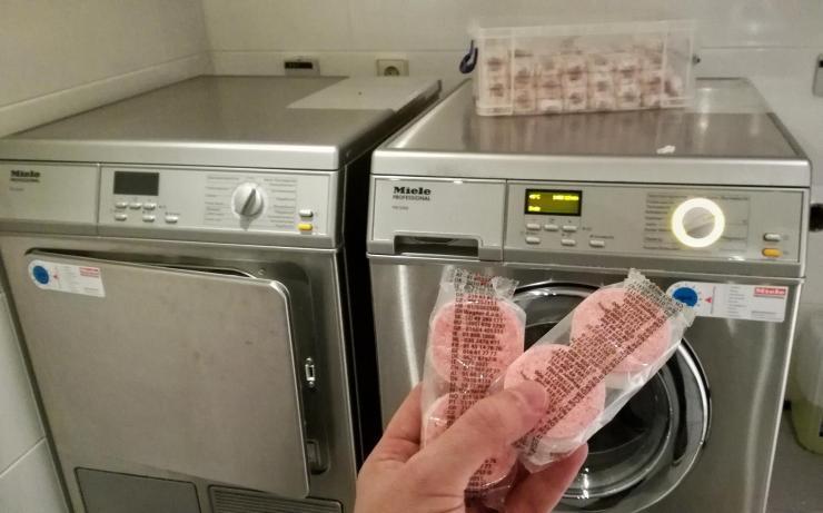 Derag Livinghotel am Viktualienmarkt München Bewertung Laundry Raum