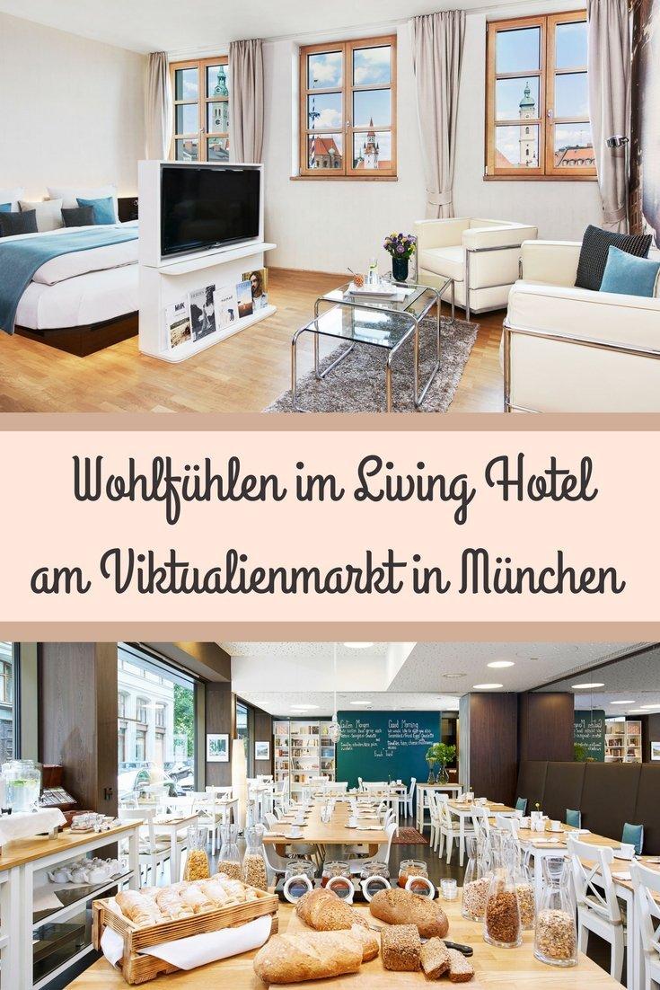 Übernachten im Living Hotel am Viktualienmarkt in München
