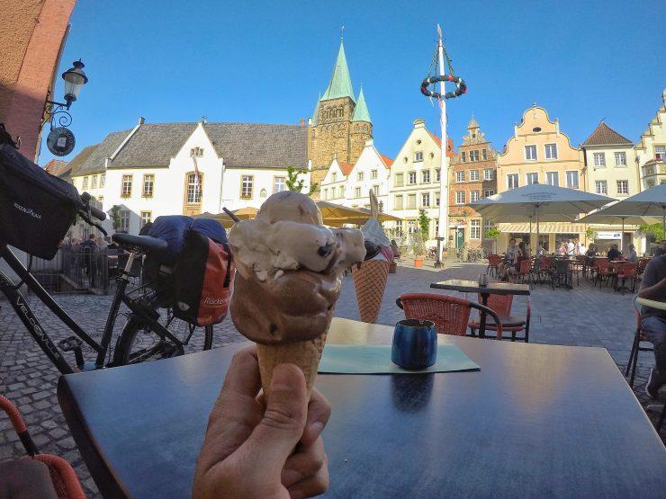 Urlaubsstimmung im Sommer in Warendorf
