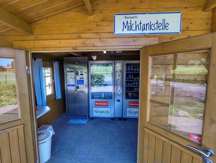 Milchtankstelle im Münsterland