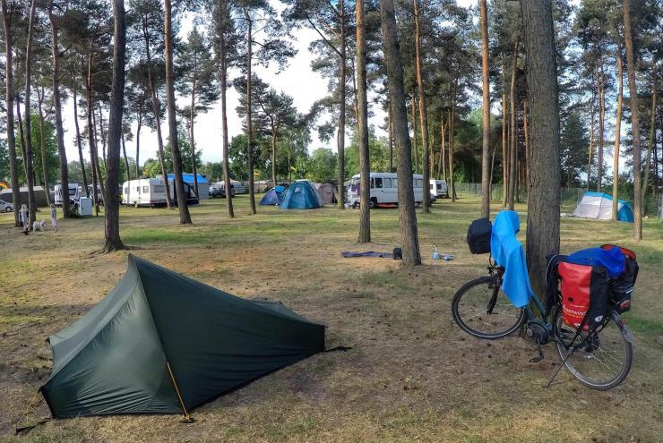 100 Schlösser Route Radweg Campingplatz