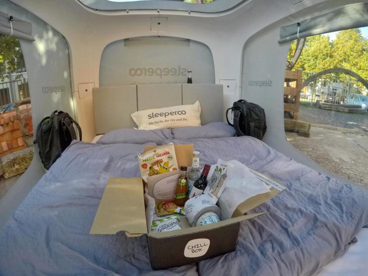 Sleeperoo in Wismar -Chillbox