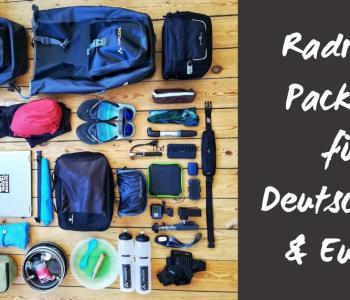 Packmaß, Gewicht und Komfort: Die Ultimative Packliste für deine Radreise