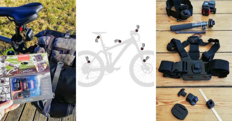 Bestesr GroPro Adapter Fahrrad Reise