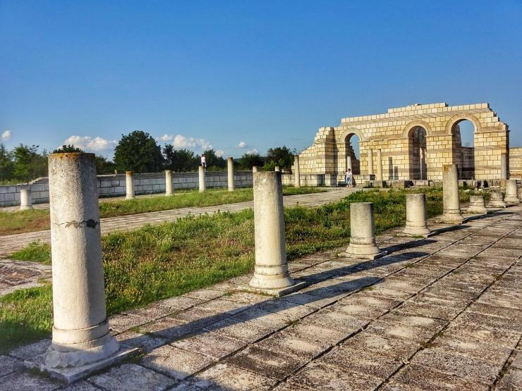 Die Große Basilika von Pliska