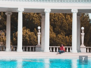 Hearst Castle by the pool | Hearst Castle Travel Guide