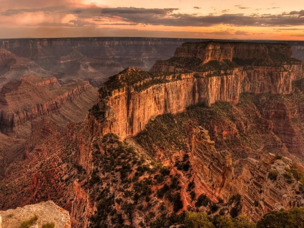 Grand Canyon North Rim Sightseeing Hiking Trails