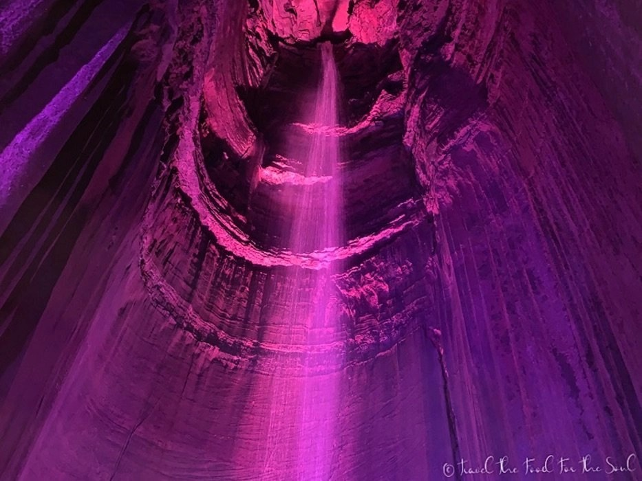 Ruby Falls Water Falls | Ruby Falls Travel Guide