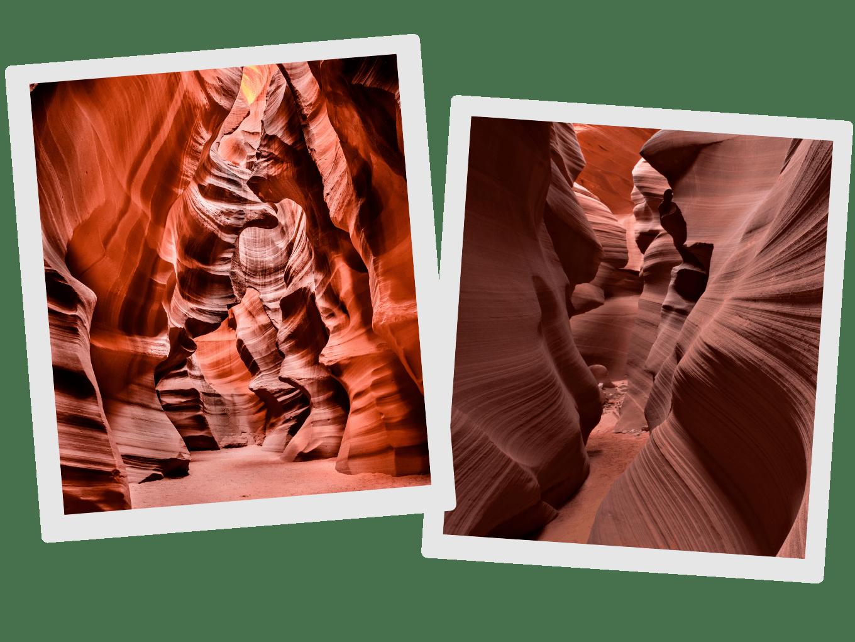 The Upper Vs. Lower Antelope Canyon