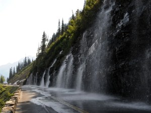 Weeping Wall | Going-to-the-Sun Road