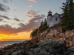 Bass Harbor Head Lighthouse Acadia National Park