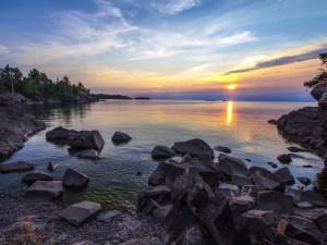 Copper Harbor Upper Peninsula of Michigan
