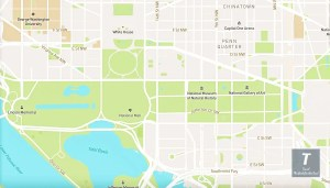washington dc attractions map