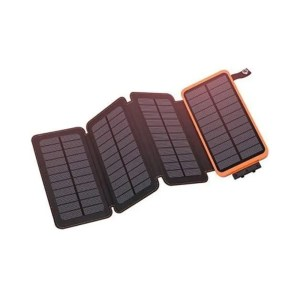 Solar Charger | The Ultimate Gift Guide For Campers and Hikers | Travel The Food For The Soul