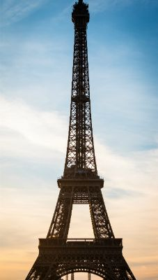 Effel Tower at Sunset