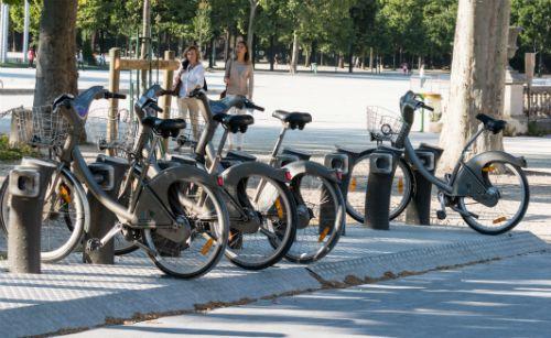 Bike Sharing in Paris