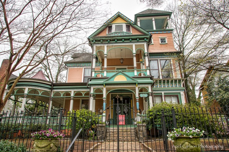 Inman Park Historical Tour: Beautiful Victorian Home called King Keith House