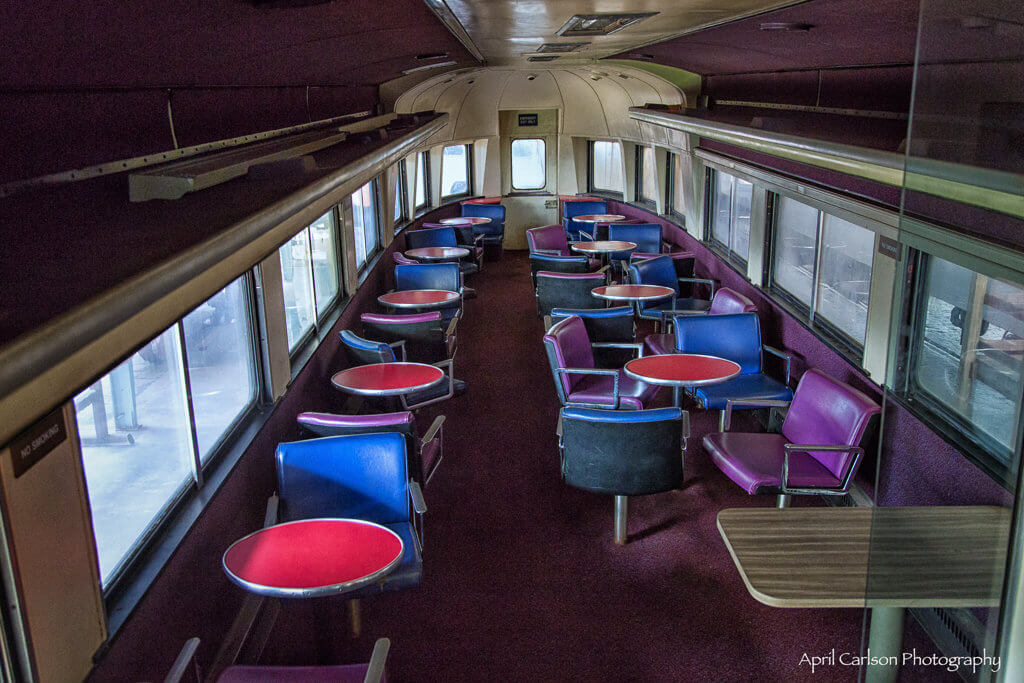 Touring Southeastern Railway Museum: Old Railway Lounge Car