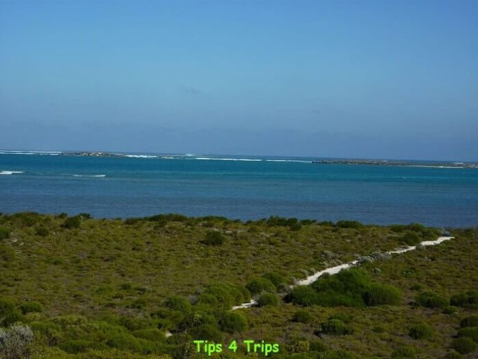 Views from Hansen Bay Lookout located near Lake Thetis.