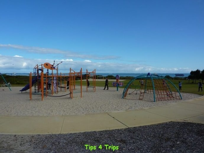 A family holiday to Cervantes and the Pinnacles with kids. The kids love the Cervantes playground.