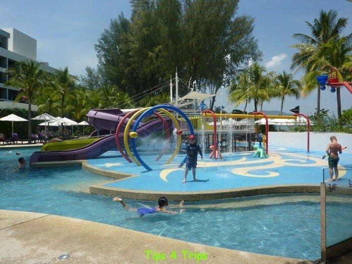 The family friendly facilites at Hard Rock Hotel Penang