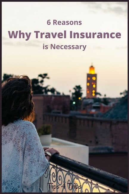 Six Reasons Why Travel Insurance is Necessary for Your Next Holiday Vacation. Don't plan a trip without reading these travel tips on why you need travel insuramce