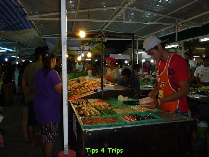 Save money on food while travelling by eating out at local eateries