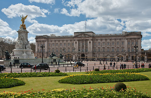 Buckingham Palace on of the most famous destinations in london