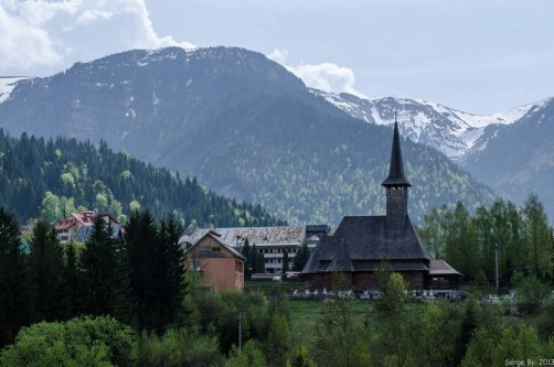 Church in the mountains of Romania