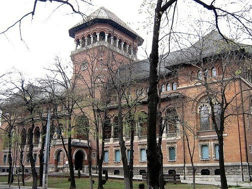 The museum of the Romanian Peasant