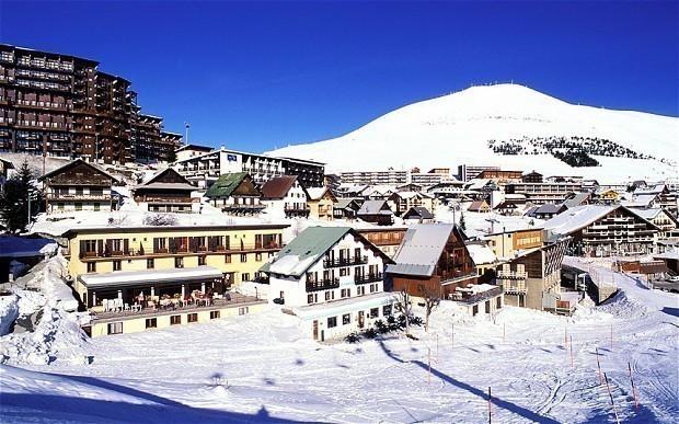 Alpe D Huez Ski Resort