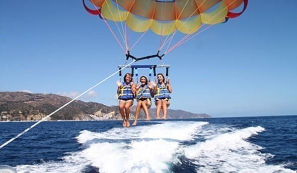 parasailing catalina